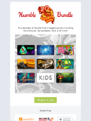 Double Fine's Adding 4 More Games to Their 20th Anniversary Bundle!