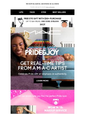 MAC Cosmetics - Prepping for Pride? We've got you! 🏳️🌈