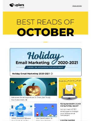 Email Monks - Email Marketing Insights [October]