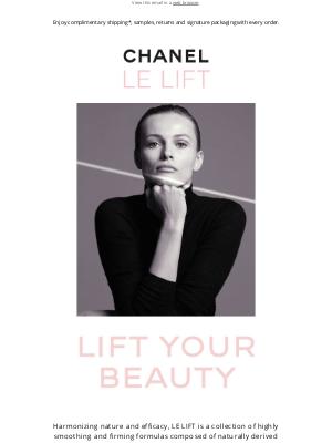 CHANEL - 2 new LE LIFT formulas