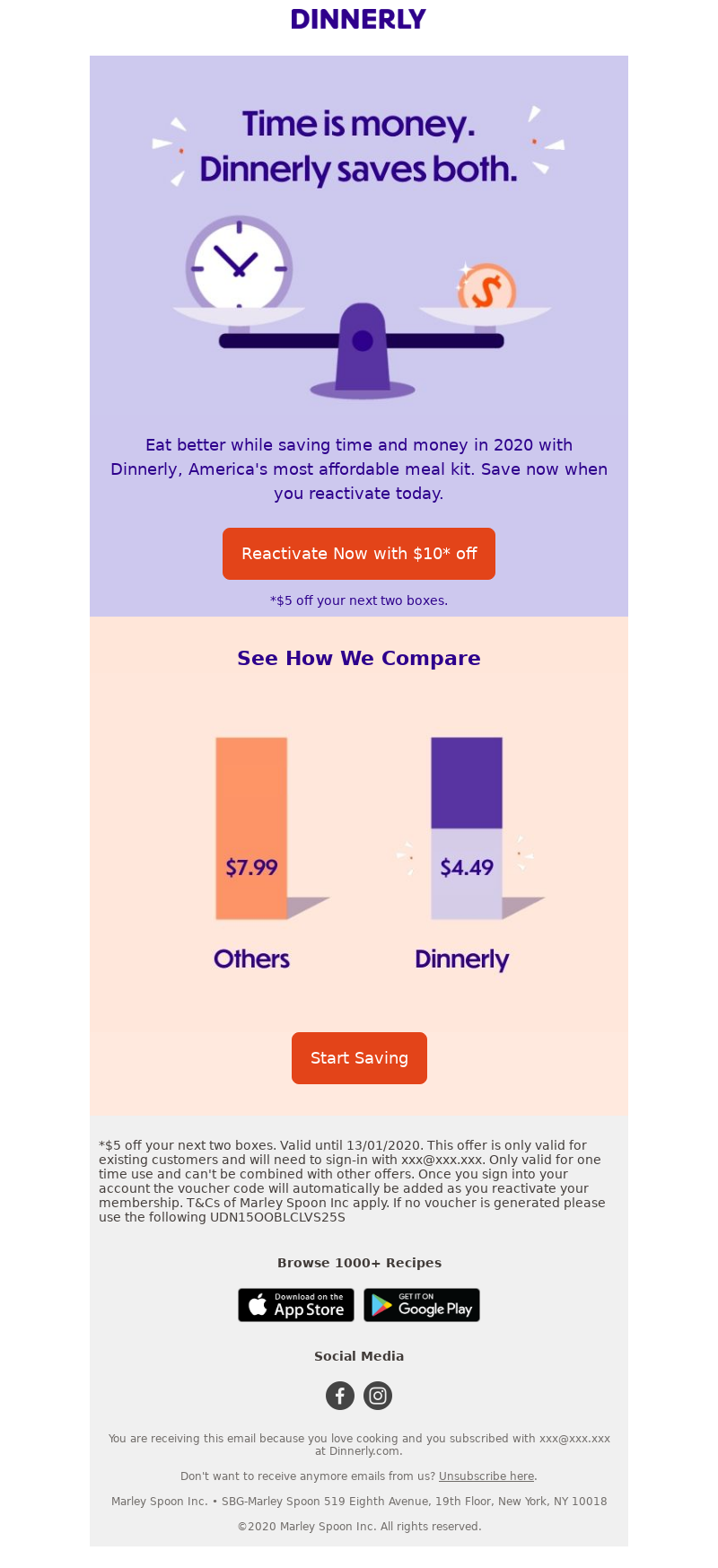 Dinnerly Dinnerly Eat better while saving time and money in 2020 with Dinne