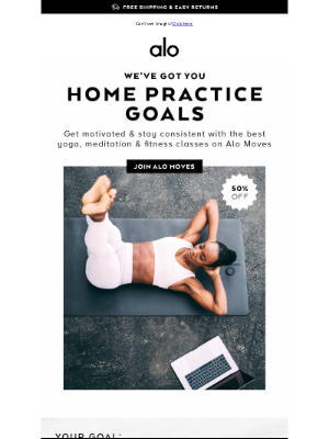 Alo Yoga - CRUSH 👏 YOUR 👏 GOALS 👏