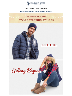 Hurry, the Black Friday Sneak Peek Sale is happening NOW! Styles from $19.99