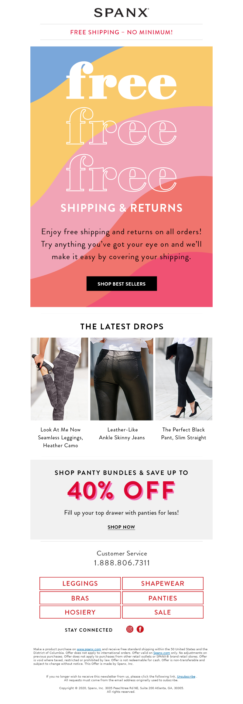 Spanx - Free Shipping & Returns, on us!