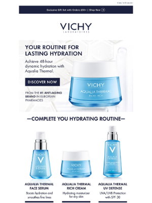 Vichy - Skincare for Lasting Hydration