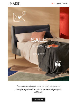 MADE (UK) - Summer sale ends soon