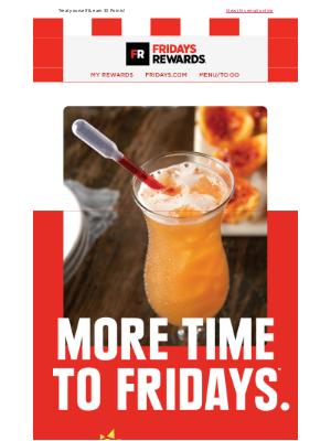 TGI Fridays - It's a Par-tea for THE Longest Friday!