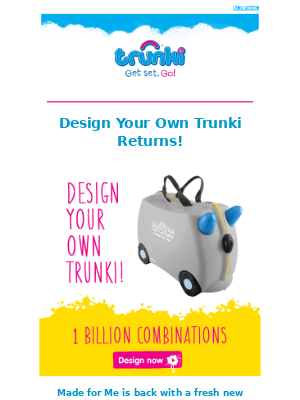 Trunki (UK) - Made for Me Is Back 😍