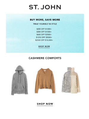 St. John Knits - Our Best Sellers: Save up to $2500