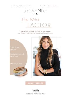 Jennifer Miller Jewelry - Jen's Fave Bracelet & Our Best Seller