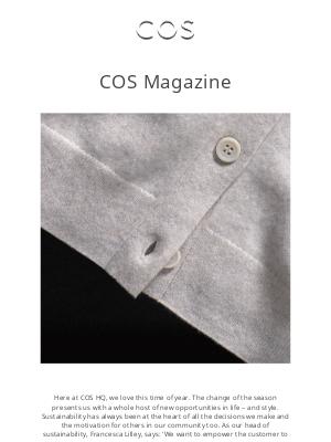 COS - New edition: COS Magazine