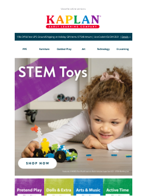 Kaplan Early Learning - 🎁 BIG Savings on Holiday STEM Toys! Don't Miss Out!
