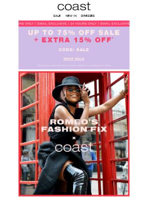 Coast Stores (UK) - Influencer edit | Extra 15% off SALE