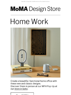 Museum of Modern Art Store (MoMA) - WFH? Transform Your Space with These