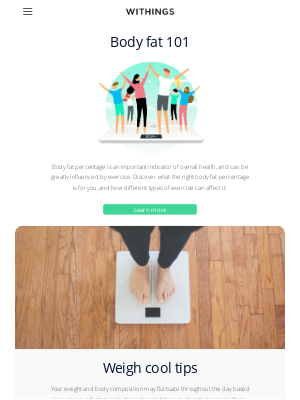 Withings - Walk your way to easy weight management