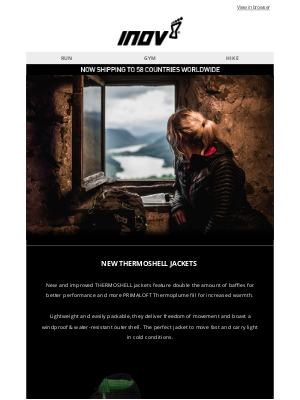 inov-8 (UK) - New THERMOSHELL Jackets