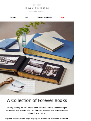 A collection of forever books