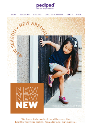 Pediped - New Arrivals + End of Season Steals
