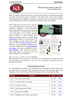K&L Wine Merchants - The Best of Bordeaux: New Arrivals and Sharp Buys from an Iconic Region