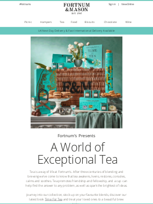 Fortnum & Mason - Care for a Cup?