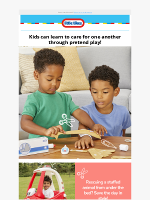Little Tikes - Building Health Heroes with Little Tikes!