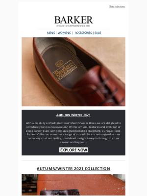 Barker Shoes (UK) - MEN'S NEW SEASON COLLECTION