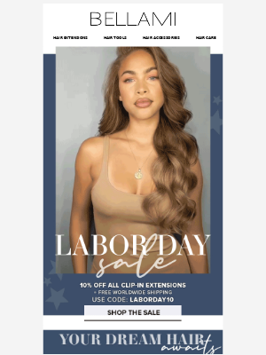 BELLAMI Hair - Your dream hair awaits ✨ Shop the Labor Day Sale Now