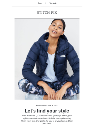 Stitch Fix - Your style, your way