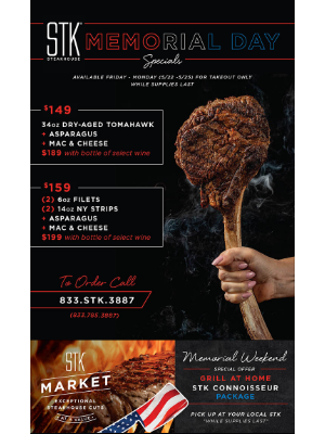 Host The Ultimate STEAK OUT This Memorial Day Weekend