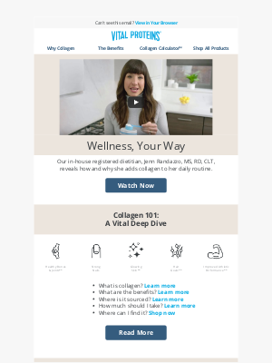 Vital Proteins - Wellness, Your Way