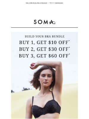 Soma Intimates - Have you scored $60 off bras yet?