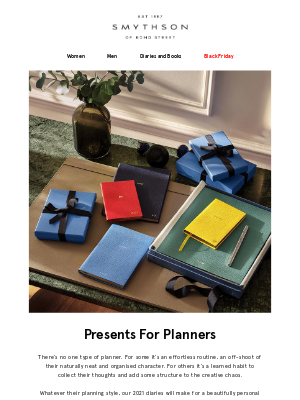 Smythson - A present for planners