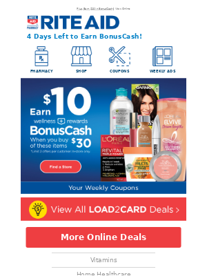 Save $209 This Week With Load2Card!