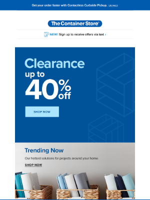 The Container Store - ~~ CLEARANCE ~ NOW ~ ON ~~
