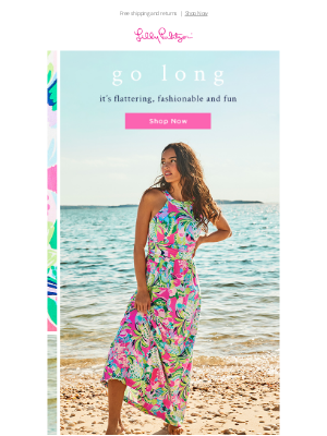 Lilly Pulitzer - We have a thing for maxis