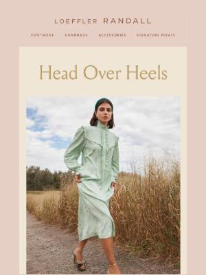 Loeffler Randall - Meet Natalia, Our New Pleated Heel