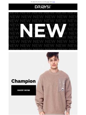 DrJays.com - New This Week: AKOO, Champion, Fashion Lab