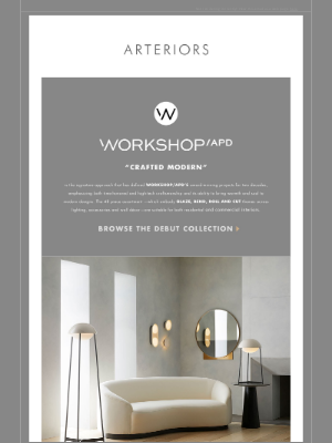 Arteriors Home - Meaning In Making | Introducing The Workshop/APD Collection