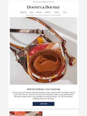 Dooney & Bourke - Introducing The Duck Bag: An all-new limited edition