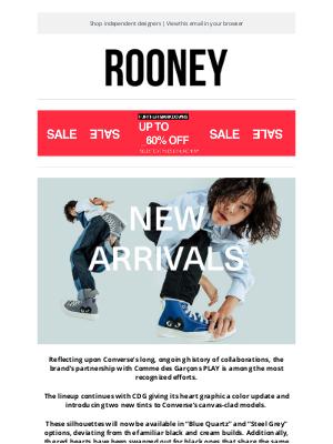 Rooney Shop - Comme Des Garçons x Converse Chuck 70 | Blue Quartz And Steel Grey