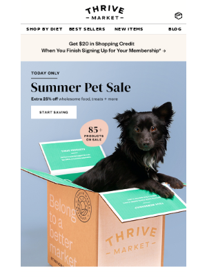 EXTRA 25% off pet bestsellers 🐾