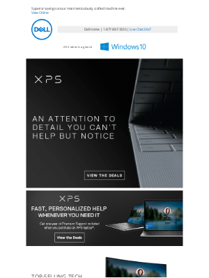 Dell - XPS – Exquisite design and thinner than ever.