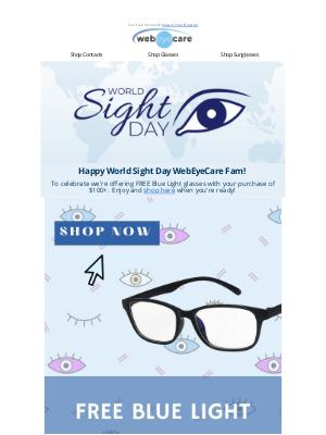 WebEyeCare - Happy World Sight Day