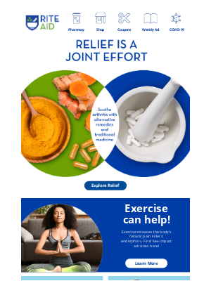 Rite Aid - Hit Arthritis Where It Hurts
