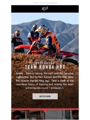 Fox Racing - Back to Racing with Ken Roczen and Team Honda
