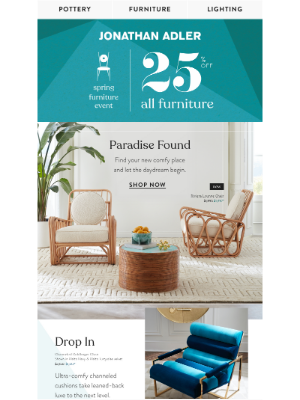 Jonathan Adler - All About The Lounge About