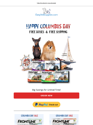 Canada Pet Care - 🛑FINAL CALL - Get FREE Frontline Plus Supplies Today
