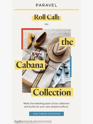 Paravel - Our full Cabana Collection