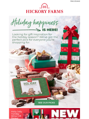 Hickory Farms - Made your nice list? Now check out these gift picks