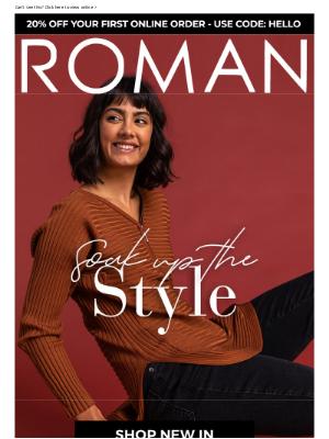 Roman Originals (UK) - ADD TO CL❤️️SET